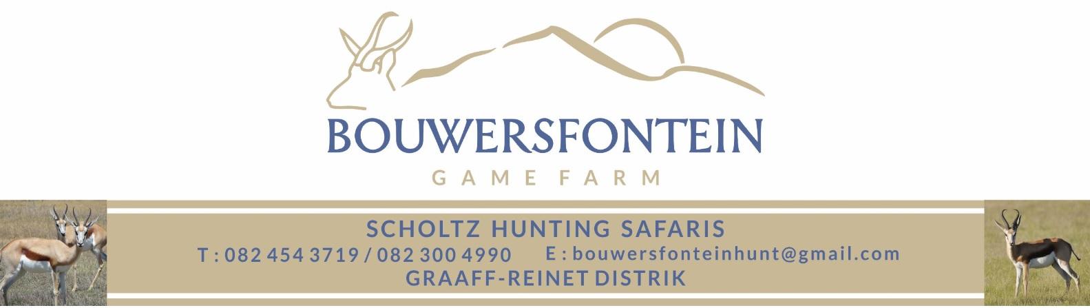 Bouersfontein Game Farm & Game Lodge